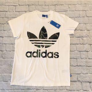 Adidas | Big Trefoil Tee Camo